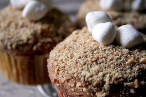 S'mores Cupcakes by Windnstorm