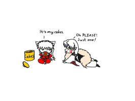 Inu Yasha and Sesshomaru by xRaggsokkenx