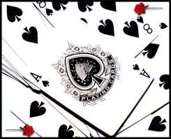 Ace of spades by Danell