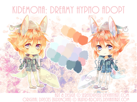 [CLOSED] Kidemona: Dreamy Hypno Adopt by Serendipiter