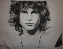 Jim Morrison by flyin-muskrat-attack