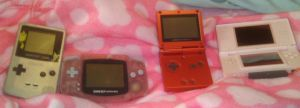 My Handheld Games by SilentTalent