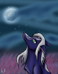 Dream Wolf by KalineReine
