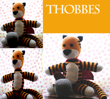 Thobbes/Hobbes Plushie by Crowchet