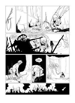 Brogunn page 26 inked by PatBoutin