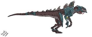 Cyber-Zilla by Dino-master