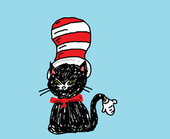 Sep. 18: Cats in hats by Rayleighev