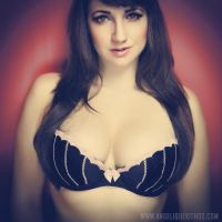 Angelique Kithos - Lingerie headshot 2 by kithos