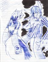 Fight at wrk by Touji