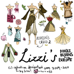 Doodles From Europe by rednotion