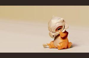 Cubone by TrickyFish89
