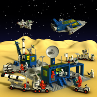 LEGO Classic Space scene 1 by zpaolo