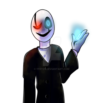 Undertale - Gaster by 1Toto1