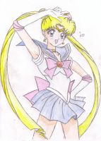 Sailor Moon Colored by lucinda3rd