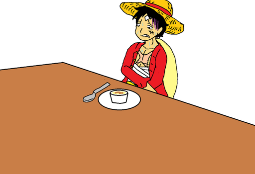Luffy After Whole Cake Island by XfangheartX