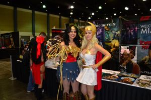 Wonder Woman and She-Ra by DannyCozplay
