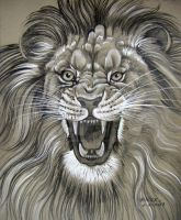 Sooper Angry Lion by HouseofChabrier