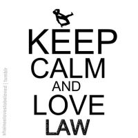Keep calm and love Law by Ashley44598X