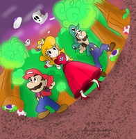 PIT: In the Toadwood Forest by Kincello