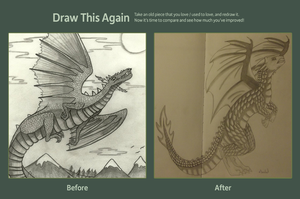 Draw this again-Dragon by S-Isabel