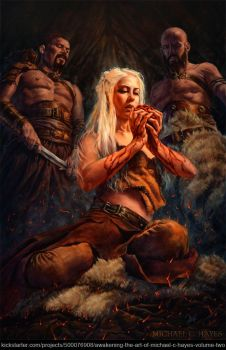 Fire and Blood by Michael-C-Hayes