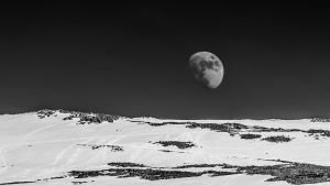 The Moon rises over Ben Nevis by Captain-Marmote