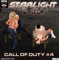 Cover of Starlight and Syn: Call of Duty #4 by B69comics