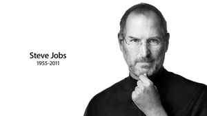 Steve Jobs Memorial Wallpaper by TheFlyestNerd