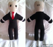 Agent 47/Hitman Plushie by Belle43