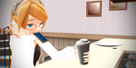 MMD 100 THEME CHALLENGE - Theme 83 - Breakfast by KristoonzArtist76