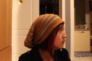 Scott Pilgrim Hat Side View by lavvy88