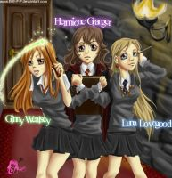 Harry Potter Gals by B-E-F-F