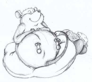 fat and happy rat by jammyjimjams