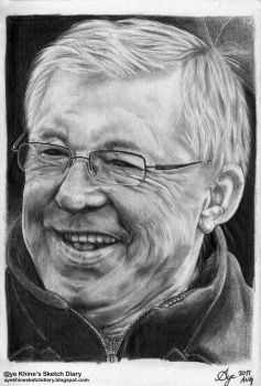 Sir Alex Ferguson by ayekhine