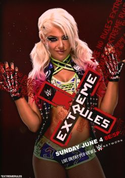 WWE EXTREME RULES 2017 Poster by CRISPY6664
