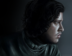 Jon Snow by TinaTurtle
