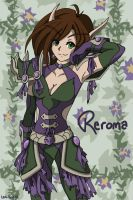 Reroma the Huntress by Lexi-Rae