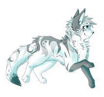 Cinderfrost! - WAY Overdue Art Trade Part by LiterallyRavenpaw