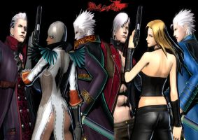 UMvC3 Devil May Cry by matt123chez