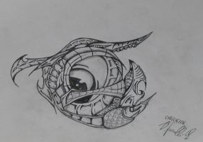 Biomechanical Eye by zero-tx