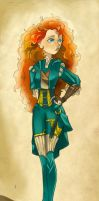 Princess Merida Costume redesign by Glory-Day