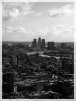 SE London viewed from The Gherkin by vitorhfd