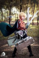 Armin SnK by Monsohot