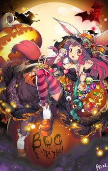 COMMISSION: Happy Halloween 2016 by KenPan
