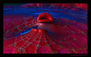 The Lips of Mae West or The Red Sofa by arteandreas