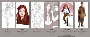 Open for Commissions! by eclecticmuse