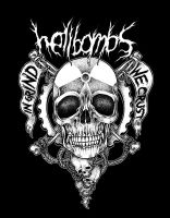 hellbombs B by skitdotterror