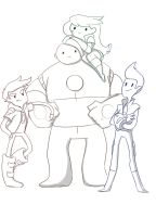 Bravest Warriors WIP by ChibiGuardianAngel