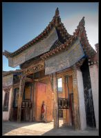 Rongwo Gompa by Dorcadion