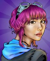Ramona Flowers by TheRogueSPiDER